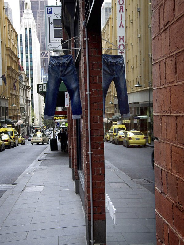 Andrew Follows. 'Jeans' 2008
