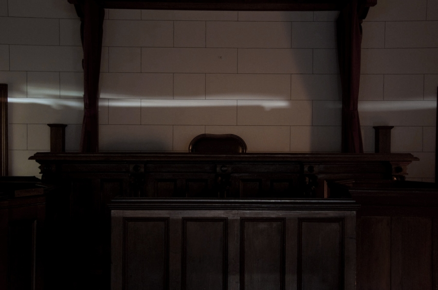 Andrew Follows. 'Judge's Chair, Beechworth' 2013