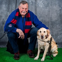 Andrew Follows. 'Ron Barassi' from the series 'Soul Mates' 2016