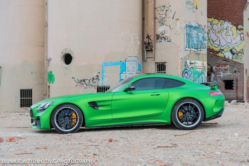 AF Green AMG GTR